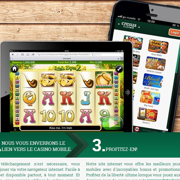 Cresus mobile casino