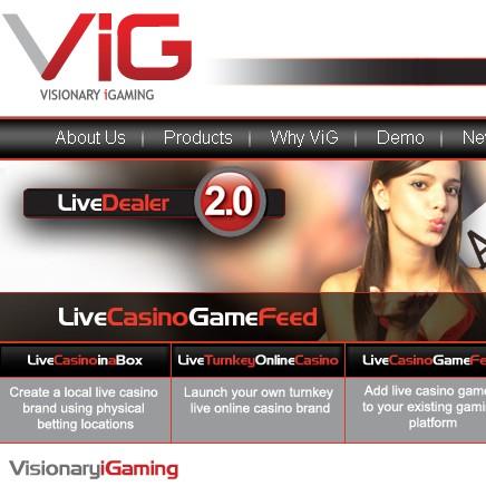 Logiciel Visionary Igaming VIG