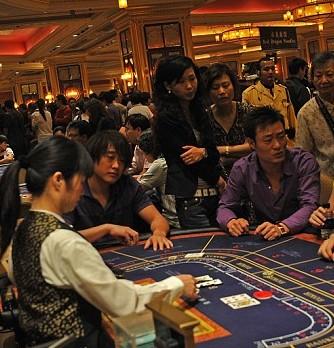 Le baccarat jeu fétiche des joueurs de Macao