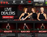 Casino777 le meilleur casino legal en Belgique