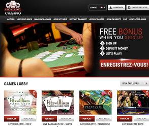 lucky casino en ligne
