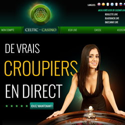 Live roulette celtic Casino