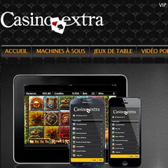 Casino Extra et sa version friendly mobile