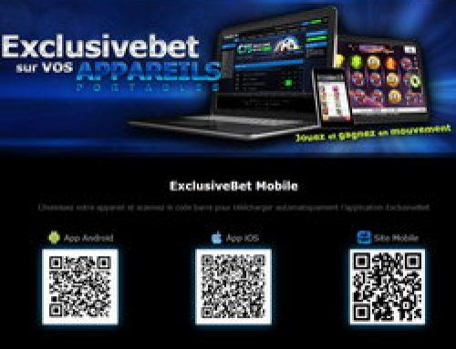 Exclusivebet Casino, le roi des jeux mobile