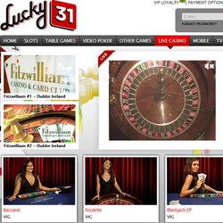 Lucky31 est un live casino francais