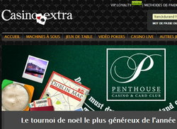 Classement du tournoi sur Casino Extra
