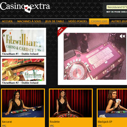 live casino online extra gold