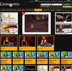 Casino Extra dispose des jeux live de Evolution Gaming