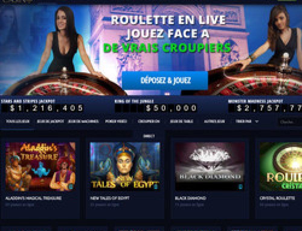 paris vip casino en ligne