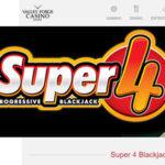Super 4 Progressive Blackjack de Valley Forge Casino Resort