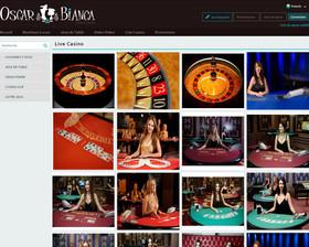 Oscar Bianca Casino en Live
