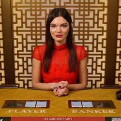 Baccarat Control Squeeze: Table sur Lucky31 Casino