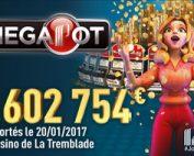 Un joueuse du Casino de La Tremblade décroche le Partouche Megapot