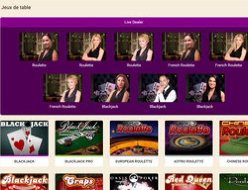 Logiciel Netent Live sur Wild Sultan Casino