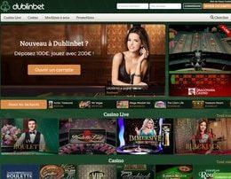 Nouveau logo et site de Dublinbet Casino