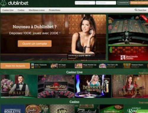Le nouveau Dublinbet Casino est arrivé !