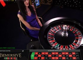 Roulette Immersive sur Lucky31 Casino