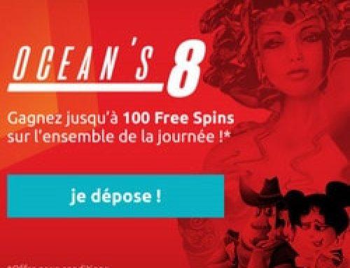 Bonus Monsieur Vegas du 8 au 11 mai 2017