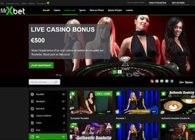MrXbet est un live casino en ligne