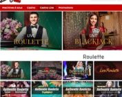 Roulette Authentique Gaming sur Lucky31