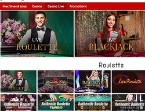 6 nouvelles tables de Roulette live chez Lucky31 Casino