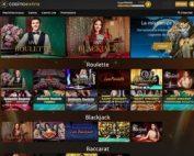 Live Casino Extra avec ses 6 logiciels avec croupiers en direct