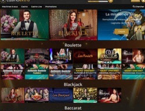 Casino Extra : Le live casino de référence avec croupiers en direct