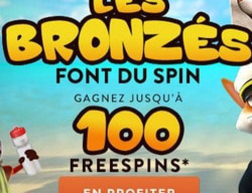 Les bronzés font du Spin, la nouvelle promo Cresus Casino