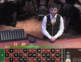 Roulette Live sur MrXbet Casino