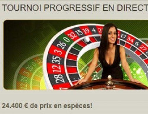 Tournois Progressifs en direct de Fairway Casino