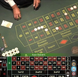 Authentic Roulette Professional en direct du Casino Saint Vincent