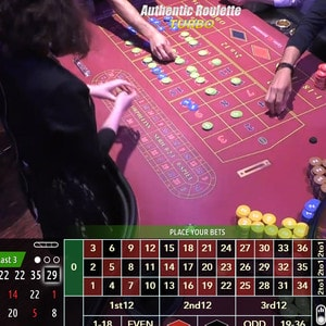 Authentic Roulette Turbo du Casino International de Batumi en Georgie