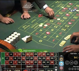 Original Roulette d'authentic Gaming du casino Saint Vincent