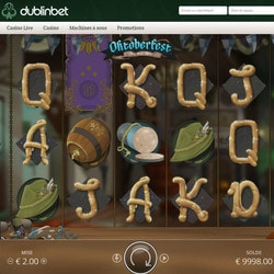 Machine à sous Oktoberfest de NoLimit City disponible sur Dublinbet