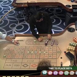 Live roulettes depuis de vrais casinos terrestres