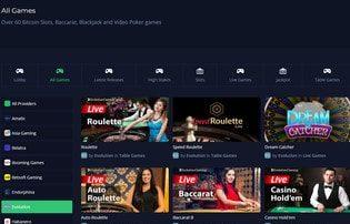 mbitcasino est un live casino avec Bitcoin