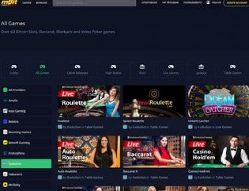 mBit Casino ou le meilleur casino en ligne Bitcoin