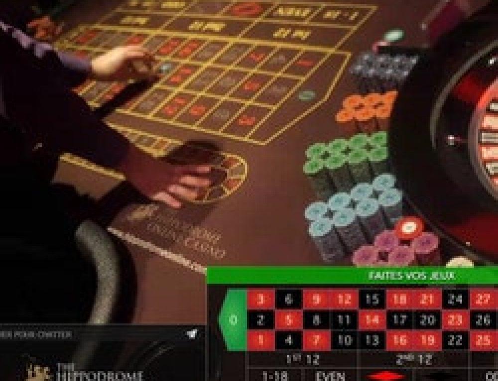 Live Roulette du Hippodrome Casino disponible sur Lucky31 Casino