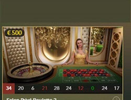 Roulette Salon Privé disponible sur Lucky31 Casino