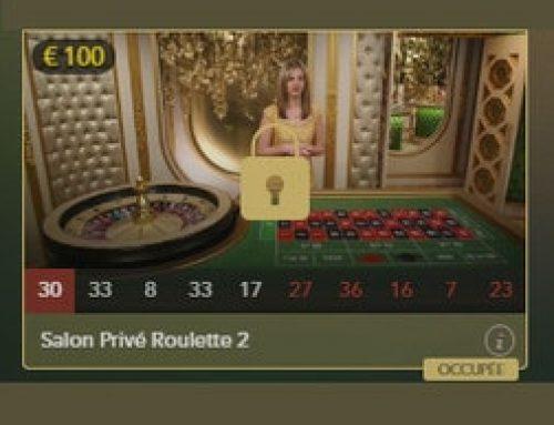 Affluence aux tables de Roulette Salon Privé avec mises plus basses