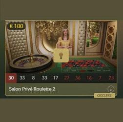 Salon VIP pour jouer a la roulette en ligne en direct