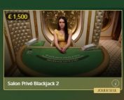 Lucky31 Casino propose 3 tables de blackjack VIP : Blackjack Salon Privé