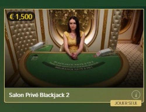 Lucky31 Casino présente Blackjack Salon Privé