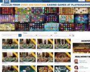 SugarPlayHouse propose les tables avec croupiers en direct d'Evolution Gaming