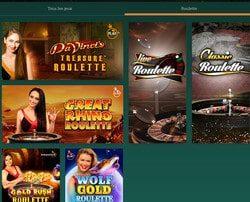 Roulettes en ligne Pragmatic Play Live sur Cresus Casino