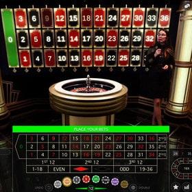 Lightning Roulette d'Evolution Gaming