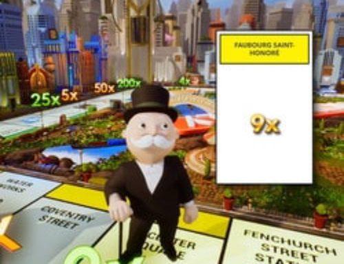 Monopoly live, le nouveau jeu d'Evolution Gaming qui en jette