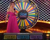 Roue de la Fortune Dream Catcher sur le live casino Fatboss