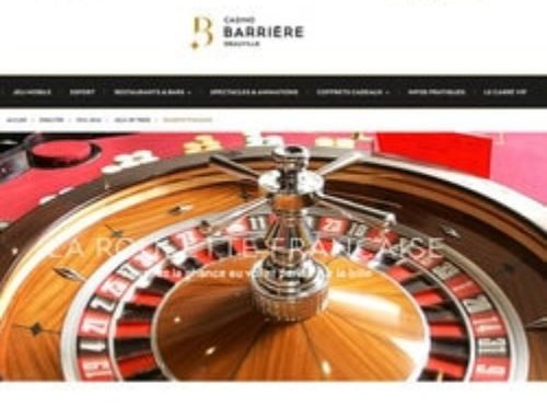Un joueur de roulette gagne plus d'un million au Casino de Deauville