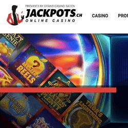 Casino en live legal suisse Jackpots.ch du Grand Casino Baden